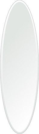 洗面鏡 浴室鏡 トイレ鏡 化粧鏡 日本製 楕円形 鏡 350mm×1200mm クリアーミラー デラックスカット 国産 フレームレスミラー 風呂 鏡 壁掛け鏡 壁掛けミラー ウオールミラー 姿見 姿見鏡 ミラー
