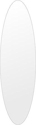 洗面鏡 浴室鏡 トイレ鏡 化粧鏡 日本製 高透過 超透明鏡 楕円形 鏡 350mm×1200mm スーパークリアーミラー シンプルタイプ 国産 フレームレスミラー 風呂 鏡 壁掛け鏡 壁掛けミラー ウオールミラー 姿見 姿見鏡 ミラー