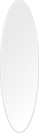 洗面鏡 浴室鏡 トイレ鏡 化粧鏡 日本製 高透過 超透明鏡 楕円形 鏡 350mm×1200mm スーパークリアーミラー クリスタルカット 国産 フレームレスミラー 風呂 鏡 壁掛け鏡 壁掛けミラー ウオールミラー 姿見 姿見鏡 ミラー