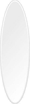 洗面鏡 浴室鏡 トイレ鏡 化粧鏡 日本製 高透過 超透明鏡 楕円形 鏡 350mm×1200mm クリアーミラー デラックスカット 国産 フレームレスミラー 風呂 鏡 壁掛け鏡 壁掛けミラー ウオールミラー 姿見 姿見鏡 ミラー