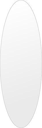 飛散防止加工 鏡 ミラー 高透過 超透明鏡 安心 安全 クリスタルミラー シリーズ:scdx-oval400x1200-km-HS(オーバル)(スーパークリアーミラー シンプルタイプ)アイビーオリジナル 洗面 浴室 風呂 トイレ 鏡 ミラー