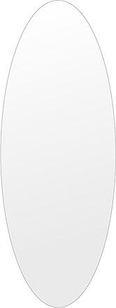 洗面鏡 浴室鏡 トイレ鏡 化粧鏡 日本製 高透過 超透明鏡 楕円形 鏡 450mm×1200mm スーパークリアーミラー シンプルタイプ 国産 フレームレスミラー 風呂 鏡 壁掛け鏡 壁掛けミラー ウオールミラー 姿見 姿見鏡 ミラー