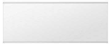 鏡 ミラー 壁掛け鏡 ウォールミラー ステンフレーム シリーズ(一般空間用):i-cm-h-s-2f-w1200mmxh450mm(四角形)(クリアーミラー 上下2方フレームタイプ)( 壁掛け 姿見 ステンレス フレームミラー )