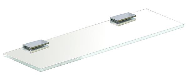 ガラスシェルフ シェルフ 棚 洗面の棚 サニタリーシェルフ 洗面 洗面所 ラック 棚板 壁掛け 収納 壁面 デザイン トイレ 洗面の棚 化粧棚 サニタリーシェルフ (高透過超透明ガラス):gs400xd110sc