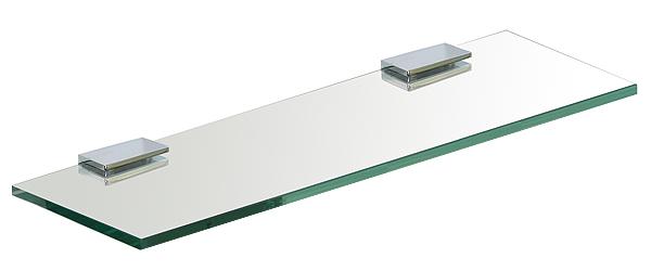 ガラスシェルフ シェルフ 棚 洗面の棚 サニタリーシェルフ 洗面 洗面所 ラック 棚板 壁掛け 収納 壁面 デザイン トイレ 洗面の棚 化粧棚 サニタリーシェルフ (通常の透明ガラス):gs400xd110cl
