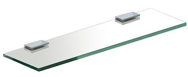 ガラスシェルフ シェルフ 棚 洗面の棚 サニタリーシェルフ 洗面 洗面所 ラック 棚板 壁掛け 収納 壁面 デザイン トイレ 洗面の棚 化粧棚 サニタリーシェルフ (通常の透明ガラス):gs450xd110cl
