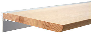 天然木が美しいウッド・シェルフ 棚 シェルフ 木の棚 ウォールシェルフ 収納棚 インテリア棚(奥行=250mmタイプ、サイズ=w400xd250):ws400xd250