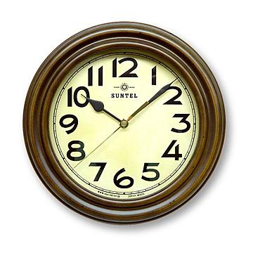 静か 音がしない 電波時計 レトロ 壁掛け 日本製 掛け時計 木製 おしゃれ ギフト 北欧 (電波 時計 電波式)(アンティーク クラシック)(連続秒針 静音 スイープ スイープムーブメント スイープ秒針)