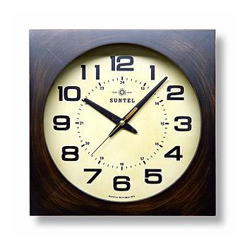 掛時計 掛け時計 壁掛け時計(和室 和風 日本風 日本間)(電波時計 電波掛け時計)(アンティーク レトロなデザイン):wstsDsQL67t7AN