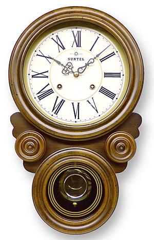 時計 クロック 掛け時計 掛時計 壁掛け時計 おしゃれ デザイン インテリア 通販 (ボンボン時計 時打ち だるま時計)(アンティーク レトロなデザイン)(振り子時計):QsL68t7R