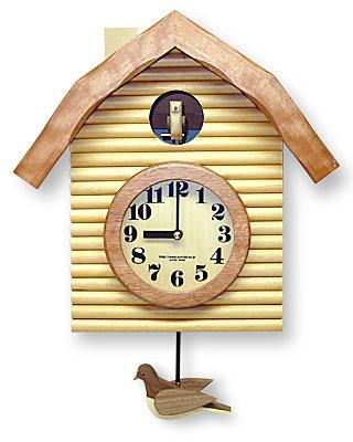 時計 クロック 掛け時計 掛時計 壁掛け時計 おしゃれ デザイン インテリア 通販 ( 鳩時計 ):QsL65t0-NA