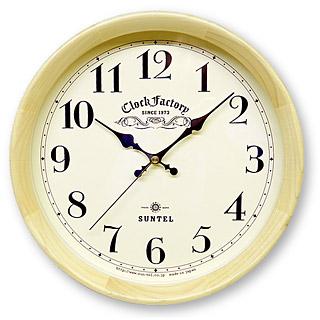 掛け時計 掛時計 日本製 レトロ 壁掛け時計 壁掛け 時計 かけ時計 木製 プレゼント ギフト おしゃれ 北欧 シンプル 見やすい(電波時計 電波 時計 電波式)(連続秒針 静音 スイープ スイープムーブメント スイープ秒針 静か 音がしない)