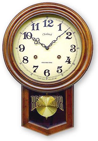 国産 天然木を使ったアンティーク デザインの電波 振り子時計 アンティーク ブラウン 丸 丸型 アラビア文字 一点一点 手作り 振り子時計 日本製 振り子 時計 電波時計 レトロ 壁掛け 掛け時計 木製 おしゃれ ギフト 北欧(電波 電波式)(アンティーク クラシック)(仕掛け時計)