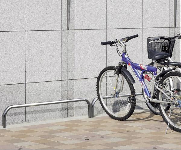 自転車スタンド サイクルスタンド 自転車ラック 自転車デイスプレイラック サイクルラック 自転車 スタンド 駐輪場 スタンド スタンドラック (地上高300mm、幅1500mmのバータイプ):cs0315-h300xw1500