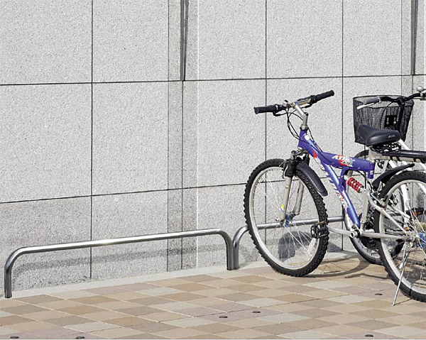 自転車スタンド サイクルスタンド 自転車ラック 自転車デイスプレイラック サイクルラック 自転車 スタンド 駐輪場 スタンド スタンドラック (地上高300mm、幅1900mmのバータイプ):cs0315-h300xw1900