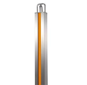 車止め ( 駐車場、ポール、チェーン、スタンド、チェーンポール、チェーンスタンド )(埋め込み式)(色:シトラス): XoT2-0006oC