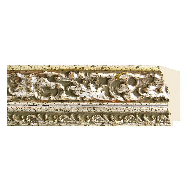 モールディング 木材 額縁 アンティーク フレーム サイズ インテリア額 インテリアモールディング インテリア 額 インテリア フレーム:m60-6713銀