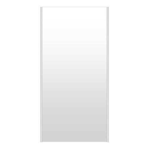 高精細ハイテクミラー 割れない鏡 72~80x160cm 鏡 立掛け 鏡 シルバー 銀 銀色 超軽量 割れないミラー たてかけ 立てかけ 姿見 ミラー 全身 フィルムミラー 日本製 国産 全身鏡 全身ミラー ウォールミラー おしゃれ 防災