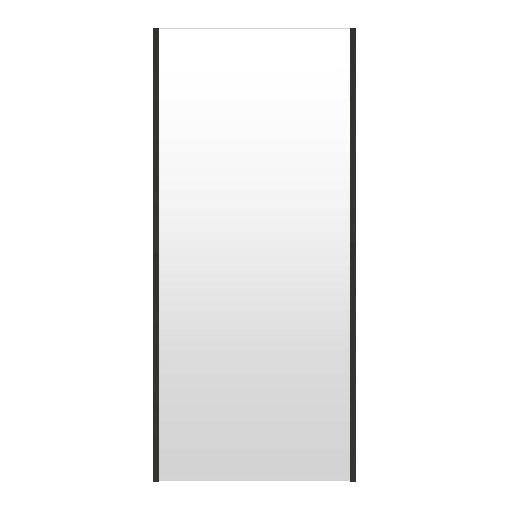 高精細ハイテクミラー 割れない鏡 62~70x160cm 鏡 立掛け 鏡 ブラック 黒 黒色 超軽量 割れないミラー たてかけ 立てかけ 姿見 ミラー 全身 フィルムミラー 日本製 国産 全身鏡 全身ミラー ウォールミラー おしゃれ 防災