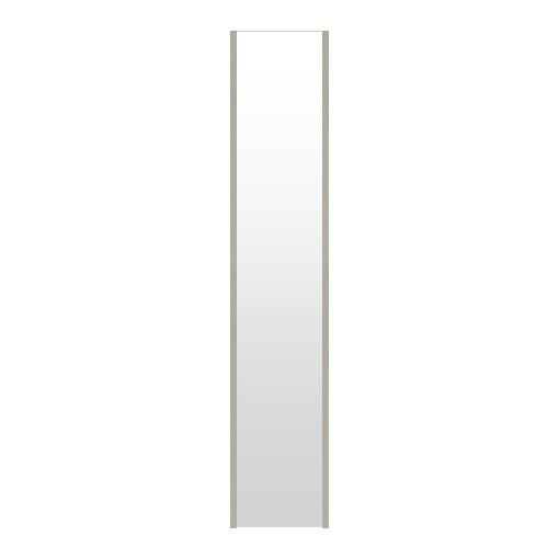 高精細ハイテクミラー 割れない鏡 20~30x160cm 鏡 立掛け 鏡 シャンパンシルバー 銀 銀色 超軽量 割れないミラー たてかけ 立てかけ 姿見 ミラー 全身 フィルムミラー 日本製 国産 全身鏡 全身ミラー ウォールミラー おしゃれ 防災
