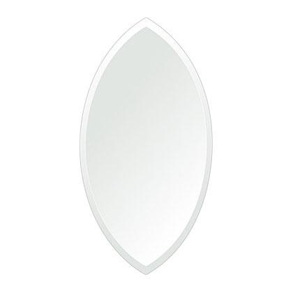 洗面鏡 浴室鏡 トイレ鏡 化粧鏡 日本製 マーキーズ 310mm×600mm クリアーミラー デラックスカット 国産 フレームレスミラー 風呂 鏡 壁掛け鏡 壁掛けミラー ウオールミラー 姿見 姿見鏡 ミラー
