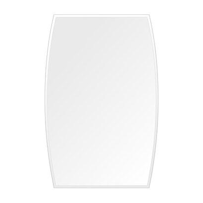 鏡 ミラー 高透過 超透明鏡 トイレ鏡 洗面鏡 化粧鏡 浴室鏡 クリスタルミラー シリーズ スーパークリアーミラー クリスタルカットタイプ ドラム(Drum):scdx-drum400x610-9mm( 鏡 壁掛け 鏡 姿見 壁掛けミラー ウォールミラー )