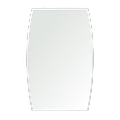 クリスタル ミラー 洗面鏡 浴室鏡 400x610mm ドラム クリスタルカット 洗面 鏡 浴室 壁掛け ミラー 日本製 5mm厚 取付金具と説明書 壁掛け鏡 ウオールミラー 防湿鏡 姿見 全身 おしゃれ 軽量 ドラム形 どらむ 洗面台 防湿 お風呂