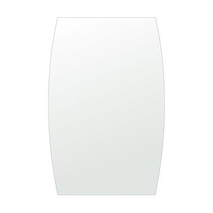 飛散防止加工 鏡 ミラー 安心 安全 クリスタルミラー シリーズ クリアーミラー シンプルタイプ ドラム(Drum):cdx-drum400x610-km日本製 アイビーオリジナル洗面 浴室 風呂 トイレ 水廻り 壁掛け 姿見 鏡