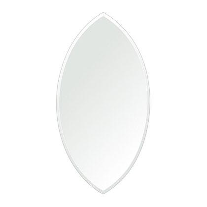 洗面鏡 浴室鏡 トイレ鏡 化粧鏡 日本製 マーキーズ 310mm×600mm クリアーミラー クリスタルカット 国産 フレームレスミラー 風呂 鏡 壁掛け鏡 壁掛けミラー ウオールミラー 姿見 姿見鏡 ミラー
