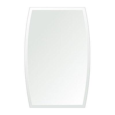 洗面鏡 浴室鏡 トイレ鏡 化粧鏡 日本製 ドラム 400mm×610mm クリアーミラー デラックスカット 国産 フレームレスミラー 風呂 鏡 壁掛け鏡 壁掛けミラー ウオールミラー 姿見 姿見鏡 ミラー