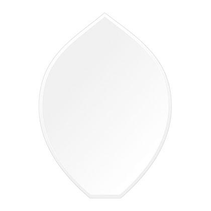 スーパークリアー ミラー 430x600mm リーク クリスタルカット 鏡 壁掛け ミラー 壁掛け 日本製 5mm厚 玄関 リビング 寝室 トイレ 取付金具と説明書 高透過 高精彩 壁掛け壁 壁に直付け ウオールミラー 姿見 全身 おしゃれ 軽量 擬宝珠 リークフラワー