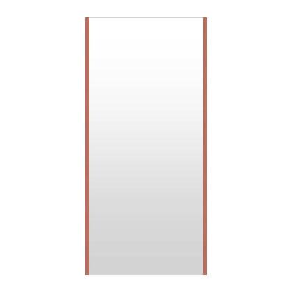 高精細ハイテクミラー 超軽量 割れない鏡 52~60x130cm 鏡 壁掛け 鏡 ロゼ(レッド) 割れないミラー 姿見 ミラー 全身 フィルムミラー 日本製 国産 全身鏡 全身ミラー 壁掛けミラー ウォールミラー おしゃれ 防災