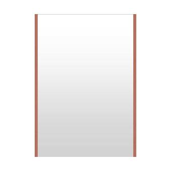 高精細ハイテクミラー 超軽量 割れない鏡 62~70x100cm 鏡 壁掛け 鏡 ロゼ(レッド) 割れないミラー 姿見 ミラー 全身 フィルムミラー 日本製 国産 全身鏡 全身ミラー 壁掛けミラー ウォールミラー おしゃれ 防災