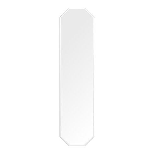 代引き手数料無料 鏡 姿見鏡 八角形 壁掛け 鏡 ミラー 日本製 高透過 超透明鏡 八角形 壁掛けミラー 鏡 300mm×1200mm スーパークリアーミラー クリスタルカット 国産 フレームレスミラー 壁掛け鏡 壁掛けミラー ウォールミラー 姿見 姿見鏡 インテリアミラー (リビング、玄関、廊下、寝室など一般空間用), フルビラチョウ:ae17a02a --- rukna.4px.tech