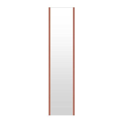 高精細ハイテクミラー 超軽量 割れない鏡 20~30x130cm 鏡 壁掛け 鏡 ロゼ(レッド) 割れないミラー 姿見 ミラー 全身 フィルムミラー 日本製 国産 全身鏡 全身ミラー 壁掛けミラー ウォールミラー おしゃれ 防災