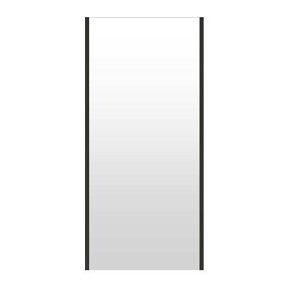 高精細ハイテクミラー 超軽量 割れない鏡 52~60x130cm 鏡 壁掛け 鏡 ブラック 黒 黒色 割れないミラー 姿見 ミラー 全身 フィルムミラー 日本製 国産 全身鏡 全身ミラー 壁掛けミラー ウォールミラー おしゃれ 防災