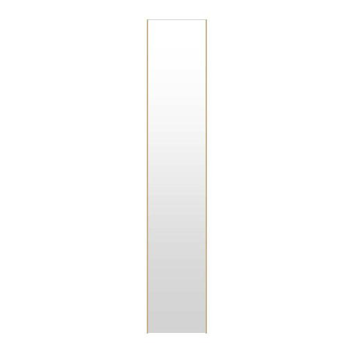 高精細ハイテクミラー 超軽量 割れない鏡 20~30x160cm 鏡 壁掛け 鏡 メープル 割れないミラー 姿見 ミラー 全身 フィルムミラー 日本製 国産 全身鏡 全身ミラー 壁掛けミラー ウォールミラー おしゃれ 防災