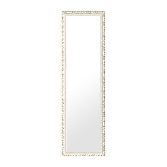 鏡 ミラー 壁掛け鏡 壁掛けミラー ウオールミラー:ven38lw-w358mmxh1258mmxd25mm-se(フレームミラー 壁掛け 壁付け 姿見 姿見鏡 壁 おしゃれ エレガント 化粧鏡 アンティーク 玄関 玄関鏡 洗面所 トイレ 寝室 額 フレーム 額縁 )