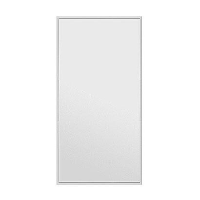 高精細ハイテクミラー 割れない鏡 90x180cm シルバー 銀 銀色 鏡 壁掛け 大型 割れないミラー 姿見 ミラー 全身 フィルムミラー 日本製 国産 全身鏡 全身ミラー ウォールミラー おしゃれ 防災 フィットネス ダンス 野球 ジム ジャンボミラー
