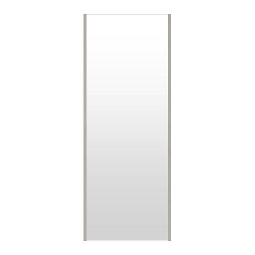 高精細ハイテクミラー 超軽量 割れない鏡 52~60x160cm 鏡 壁掛け 鏡 シャンペンシルバー 割れないミラー 姿見 ミラー 全身 フィルムミラー 日本製 国産 全身鏡 全身ミラー 壁掛けミラー ウォールミラー おしゃれ 防災