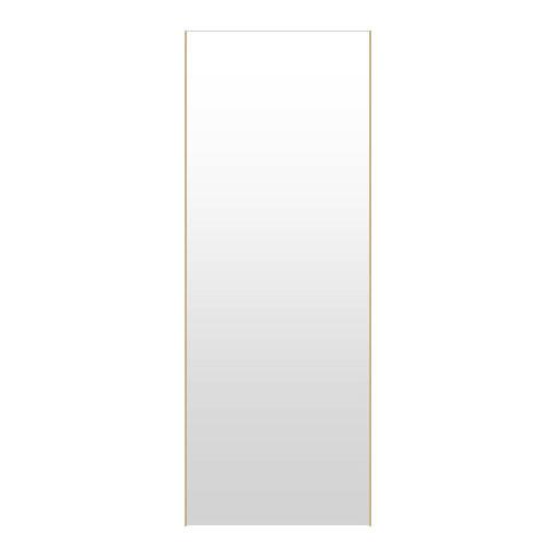高精細ハイテクミラー 超軽量 割れない鏡 52~60x160cm 鏡 壁掛け 鏡 メープル 割れないミラー 姿見 ミラー 全身 フィルムミラー 日本製 国産 全身鏡 全身ミラー 壁掛けミラー ウォールミラー おしゃれ 防災