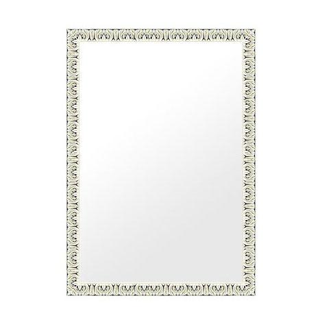 鏡 ミラー 壁掛け鏡 ウォールミラー(特大サイズ):ms501iv-w738mmxh988mmxd23mm-se