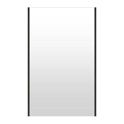 高精細ハイテクミラー 超軽量 割れない鏡 72~80x130cm 鏡 壁掛け 鏡 ブラック 黒 黒色 割れないミラー 姿見 ミラー 全身 フィルムミラー 日本製 国産 全身鏡 全身ミラー 壁掛けミラー ウォールミラー おしゃれ 防災