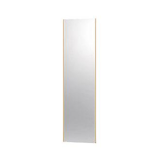 高精細ハイテクミラー 超軽量 割れない鏡 40x150cm 鏡 壁掛け 鏡 メープル 割れないミラー 姿見 ミラー 全身 フィルムミラー 日本製 国産 全身鏡 全身ミラー 壁掛けミラー ウォールミラー おしゃれ 防災