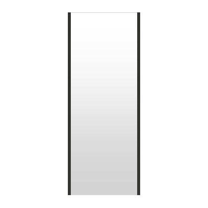 高精細ハイテクミラー 超軽量 割れない鏡 42~50x130cm 鏡 壁掛け 鏡 ブラック 黒 黒色 割れないミラー 姿見 ミラー 全身 フィルムミラー 日本製 国産 全身鏡 全身ミラー 壁掛けミラー ウォールミラー おしゃれ 防災