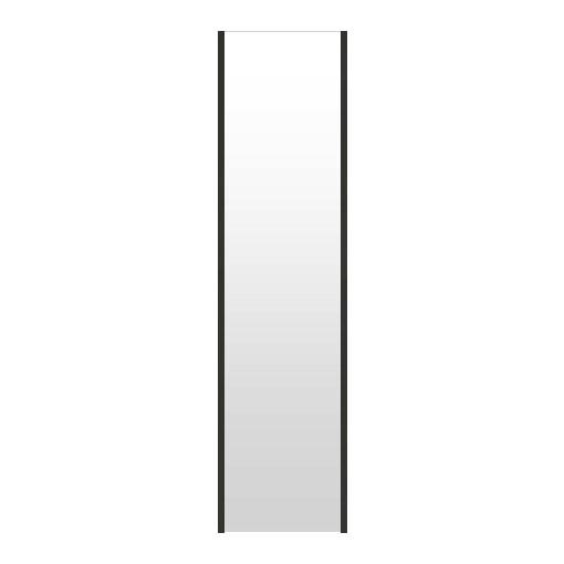 高精細ハイテクミラー 超軽量 割れない鏡 32~40x160cm 鏡 壁掛け 鏡 ブラック 黒 黒色 割れないミラー 姿見 ミラー 全身 フィルムミラー 日本製 国産 全身鏡 全身ミラー 壁掛けミラー ウォールミラー おしゃれ 防災