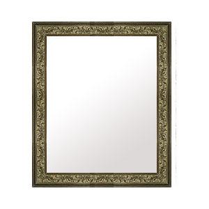 鏡 ミラー 壁掛け鏡 ウォールミラー:E-10178-495mmxh596mm
