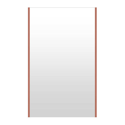 高精細ハイテクミラー 超軽量 割れない鏡 72~80x130cm 鏡 壁掛け 鏡 ロゼ(レッド) 割れないミラー 姿見 ミラー 全身 フィルムミラー 日本製 国産 全身鏡 全身ミラー 壁掛けミラー ウォールミラー おしゃれ 防災