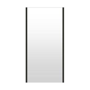 高精細ハイテクミラー 超軽量 割れない鏡 42~50x100cm 鏡 壁掛け 鏡 ブラック 黒 黒色 割れないミラー 姿見 ミラー 全身 フィルムミラー 日本製 国産 全身鏡 全身ミラー 壁掛けミラー ウォールミラー おしゃれ 防災