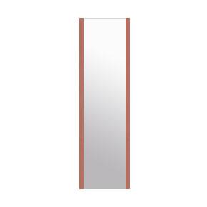高精細ハイテクミラー 超軽量 割れない鏡 20x90cm 鏡 壁掛け 鏡 ロゼ(レッド) 割れないミラー 姿見 ミラー 全身 フィルムミラー 日本製 国産 全身鏡 全身ミラー 壁掛けミラー ウォールミラー おしゃれ 防災